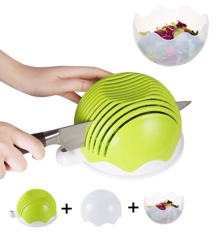 10. Raking Salad Cutter Bowl - Preferred