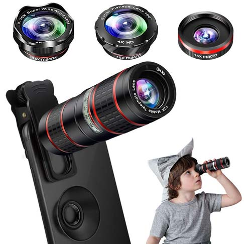 10. MZTDYTL Phone Camera Lens Kit - Preferred