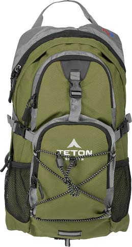 1. TETON Sports Oasis 2 Liter Hydration Backpack