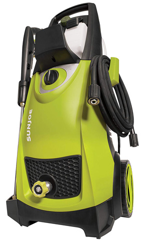 1. Sun Joe 2030 PSI 1.76 GPM 14.5-Amp Electric Pressure Washer (SPX3000) - Preferred