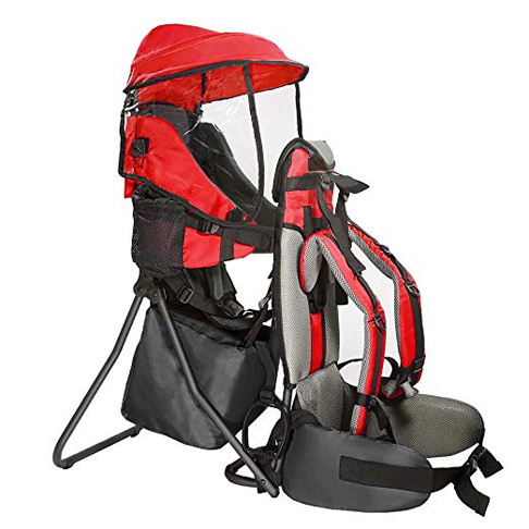 1. Clevr Cross Country Baby Backpack Hiking Carrier