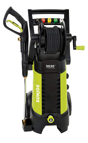 2. Sun Joe 2030 PSI 1.76 GPM 14.5 AMP Electric Pressure Washer (SPX3001)
