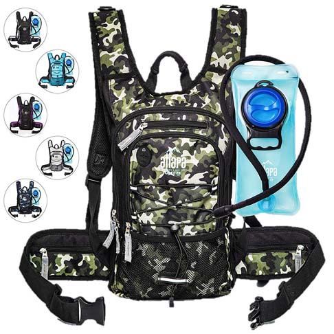9. Atlapa Sports Lightweight Hydration Backpack - Preferred
