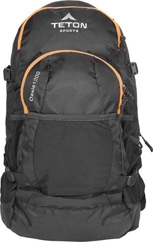 4. TETON Sports Oasis 3-Liter Hydration Backpack