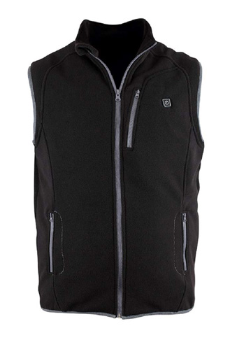 6. PROsmart Heated Vest (Unisex, Black)