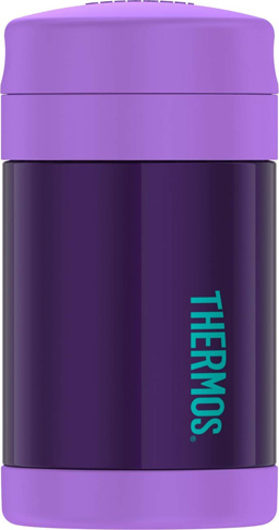9. Thermos Funtainer Food Jar, 16 Ounce, Purple