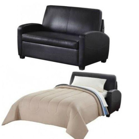 4. Alex's New Sofa Sleeper, Mainstays-Black