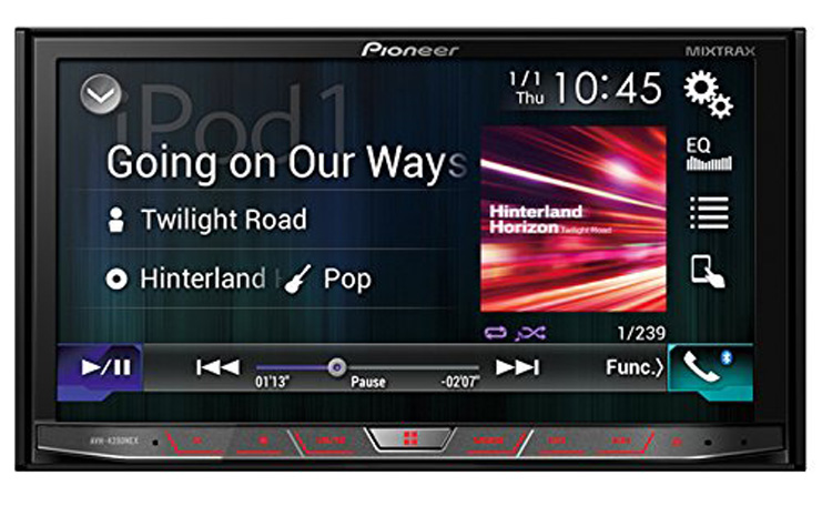 2. Pioneer 2-DIN Receiver (AVH4200NEX) - Preferred