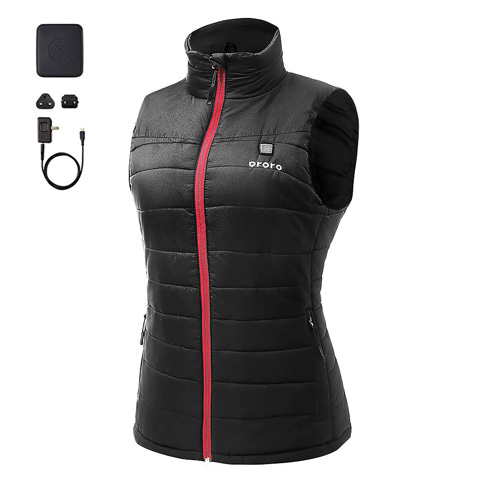 1. ororo Women's Lightweight Heated Vest - Preferred