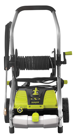 6. Sun Joe 2030 PSI 1.76 GPM 14.5 Amp Electric Pressure Washer (SPX4001)