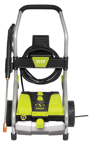 4. Sun Joe 2030 PSI 1.76 GPM 14.5-Amp Electric Pressure Washer - Preferred