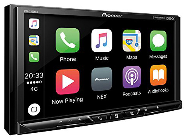 5. Pioneer MVH-2300NEX Video Receiver with Apple CarPlay