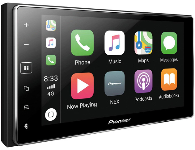 6. Pioneer MVH-1400NEX Video Receiver Apple CarPlay - Preferred