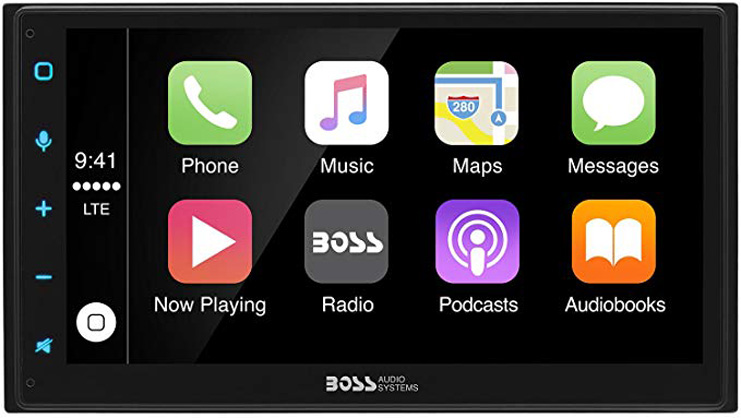 7. Boss Audio BVCP9675A Apple CarPlay Receiver