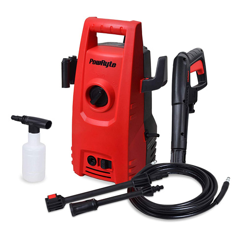 10. PowRyte 1600 PSI 1.6 GPM Electric Pressure Washer - Preferred