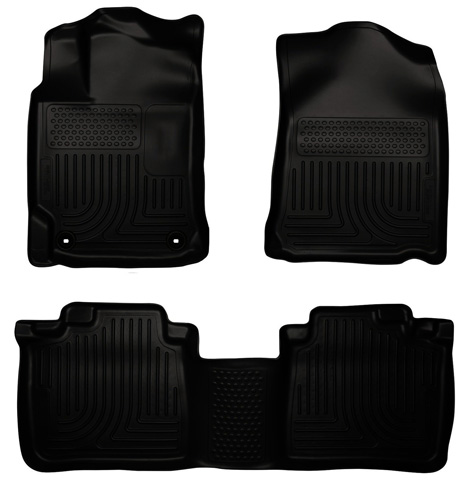 5. Husky Liners Front & 2nd Seat Floor Liners (Fits 12 – 17 Camry)