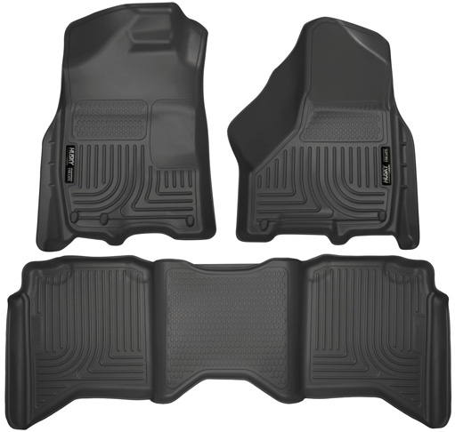 1. Husky Liners Front & 2nd Seat Floor Liners (Fits 09 – 18 Ram 1500 Crew Cab) - Preferred