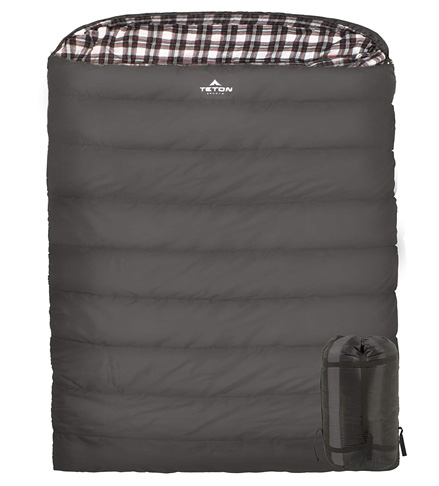 6. TETON Sports Mammoth Double Sleeping Bag - Preferred