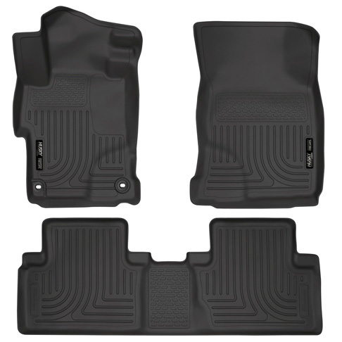 10. Husky Liners Front & 2nd Seat Floor Liners (Fits 14 – 15 Civic EX/EX-L – 4 Door) - Preferred