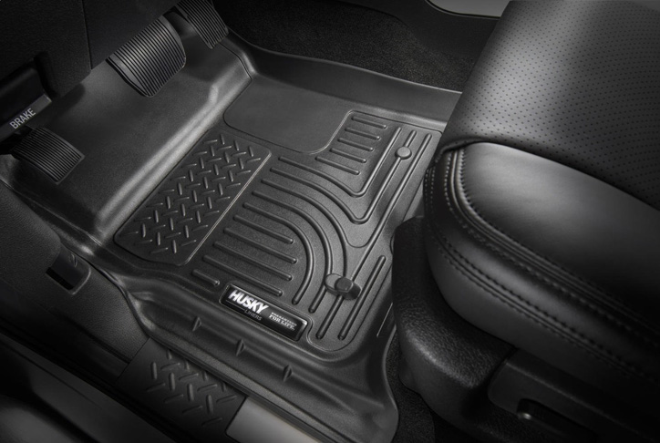 7. Husky Liners Front & 2nd Seat Floor Liners (Fits 15 – 18 Legacy/Outback)