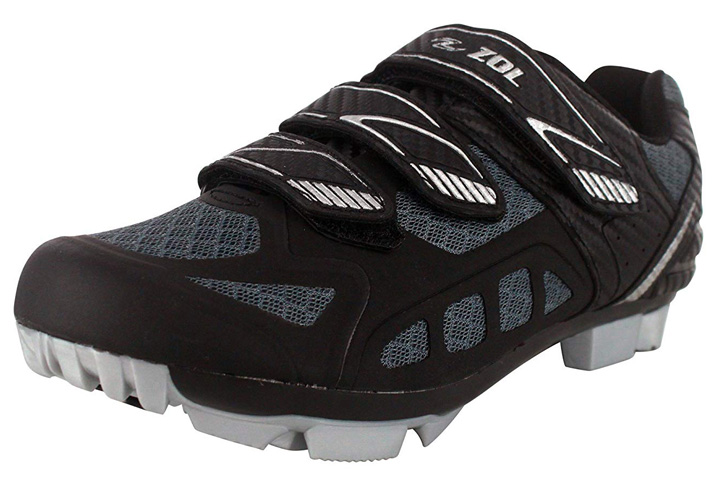 4. Zol Predator MTB Mountain Bike and Indoor Cycling Shoes