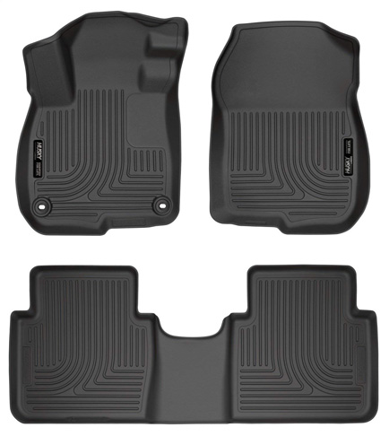 6. Husky Liners Front & 2nd Seat Floor Liners (Fits 17 – 18 CR-V) - Preferred