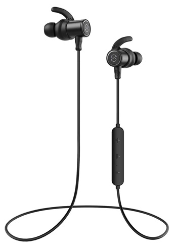 4. SoundPEATS Wireless 4.1 Magnetic Bluetooth Earphones