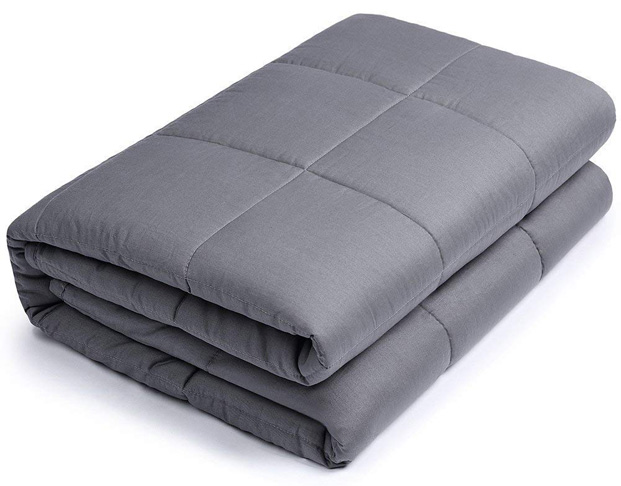 10. BUZIO Weighted Blanket, 15 lbs - Preferred