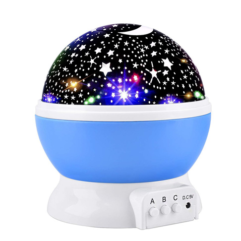 6. Elmchee Star Night Light for Kids