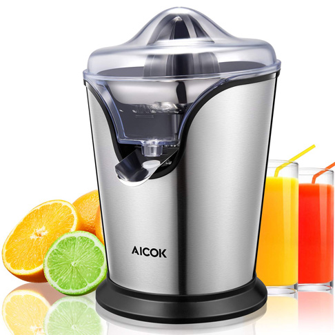 6. Aicok Citrus Juicer Electric, 100W -Preferred