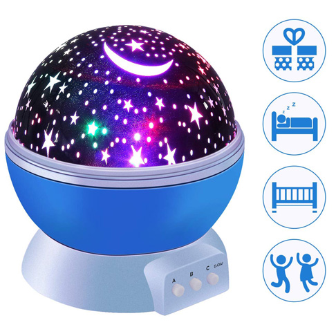 1. Royalsell Star Night Light for Nursery, Bedroom
