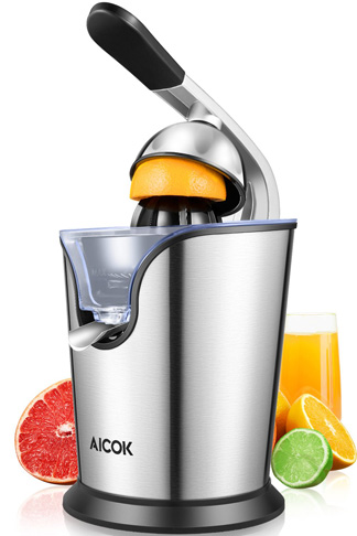 10. Aicok Citrus Juicer Electric, 160W -Preferred