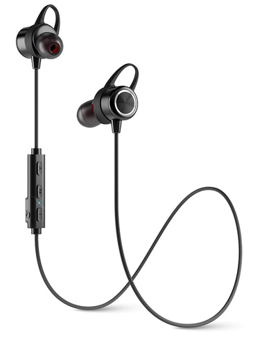 10. Diginex Wireless Bluetooth Earbuds for Running – Black - Preferred
