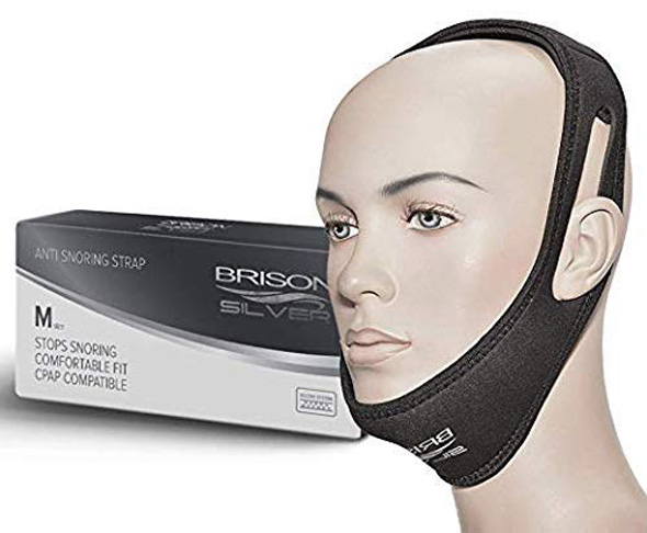 5. BRISON Anti Snore Chin Strap Device - Preferred