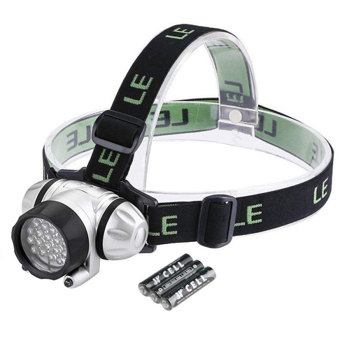 1. Lighting Ever LED Headlamp for Hiking