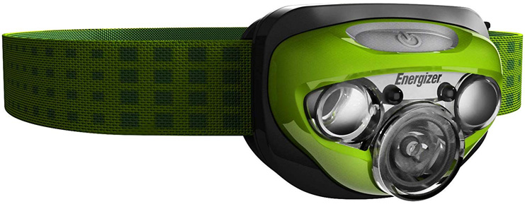 3. Energizer Vision LED Headlamps - Preferred