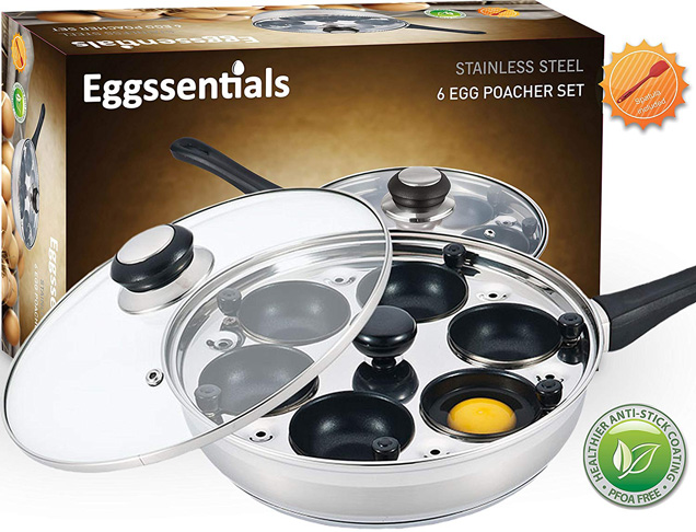 6. Eggssentials 6-cups Poached Egg Maker -Preferred
