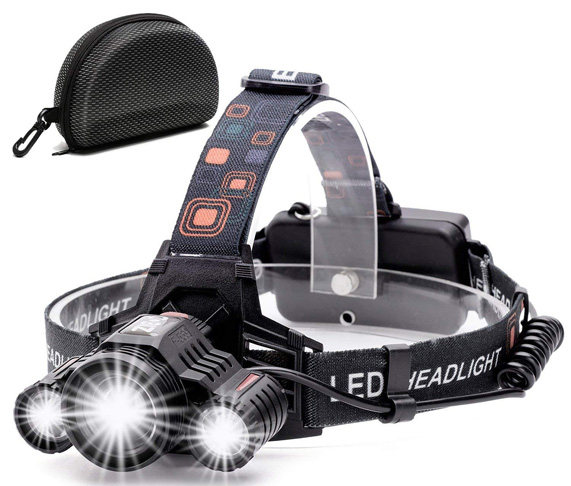 6. Cobiz 6000 Lumen LED Work Headlight