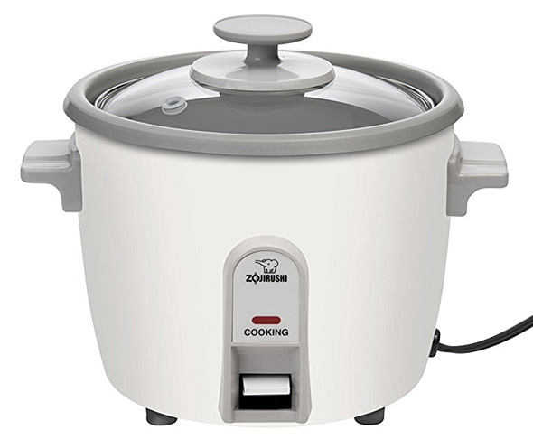 6. Zojirushi 3-Cup (Uncooked) Rice Cooker – NHS-06