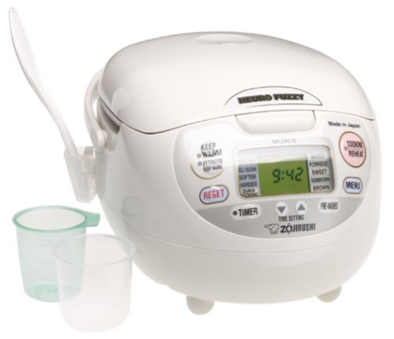 5. Zojirushi 5-1/2-Cup (Uncooked) Rice Cooker and Warmer (NS-ZCC10) - Preferred