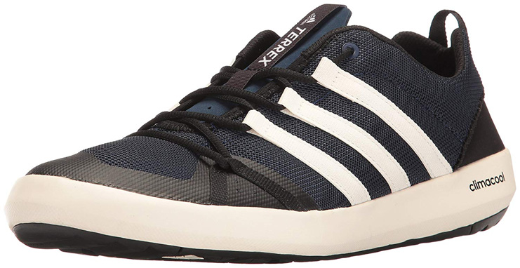 9. adidas outdoor Men's Terrex Climacool Boat Water Shoe - Preferred