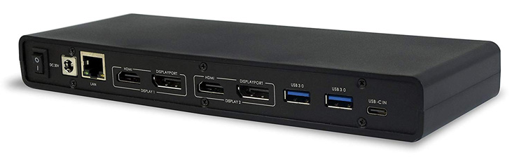 9. VisionTek USB 3.0 4K Display Laptop Docking Station