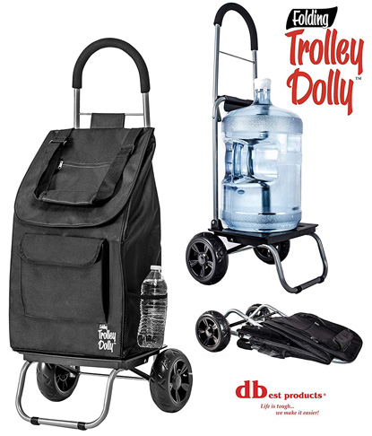 1. dbest products Foldable Trolley Dolly -Preferred