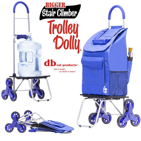 3. dbest products Stair Climber Trolley Dolly