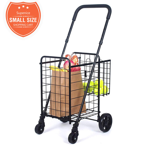 7. Supenice Folding Grocery Cart