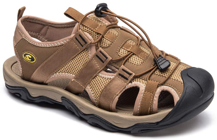 5. HOBIBEAR Men Outdoor Hiking Sandals - Preferred