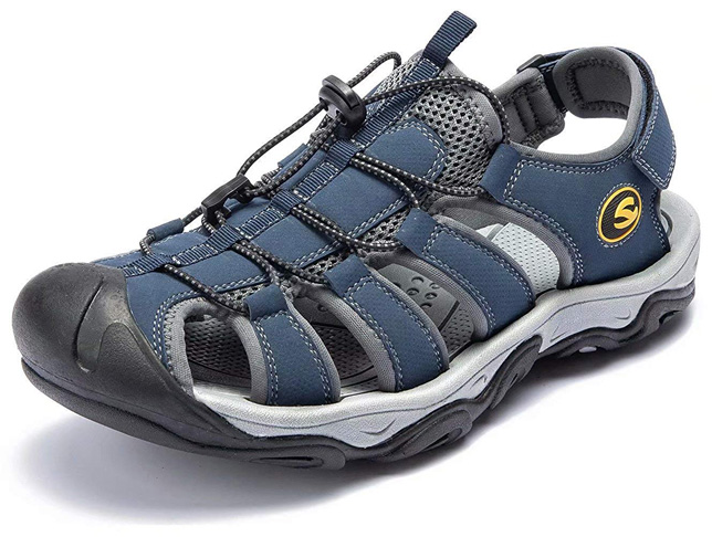 6. ODUOK Mens Sport Hiking Sandals