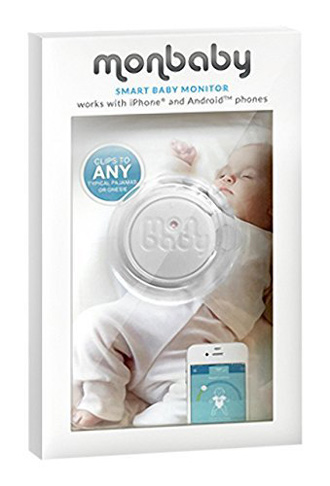 6. MonBaby Baby Monitor for Breathing and Movement