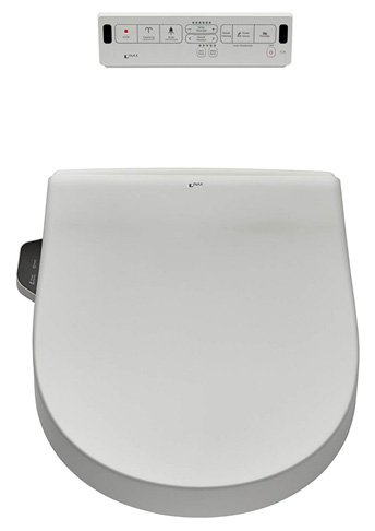 5. INAX Heated Shower Toilet Bidet Seat (8012A70GRC-415)