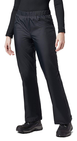 1. Columbia Women's Waterproof Rain Pants - Preferred